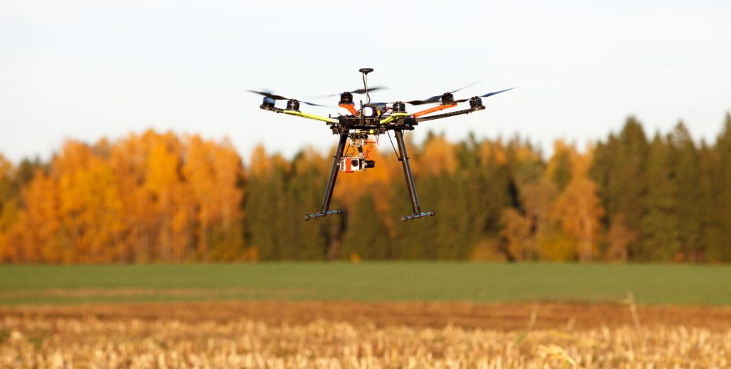 crops agriculture drones