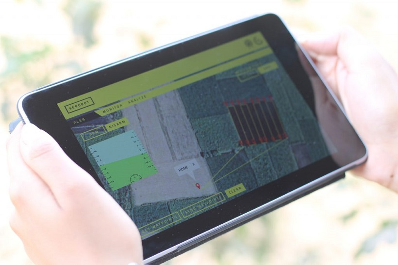 Agriculture app for drone