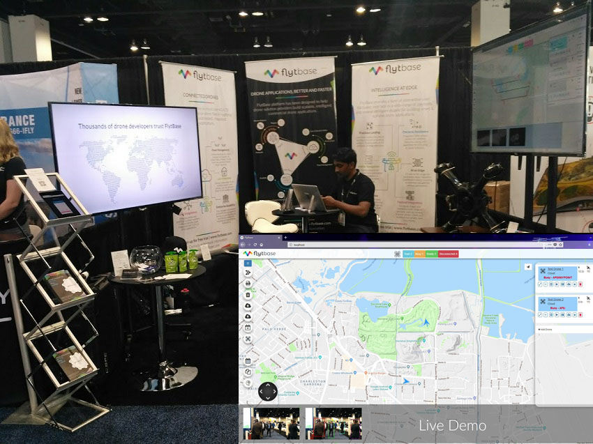 Internet of Drones at AUVSI Xponential 2018