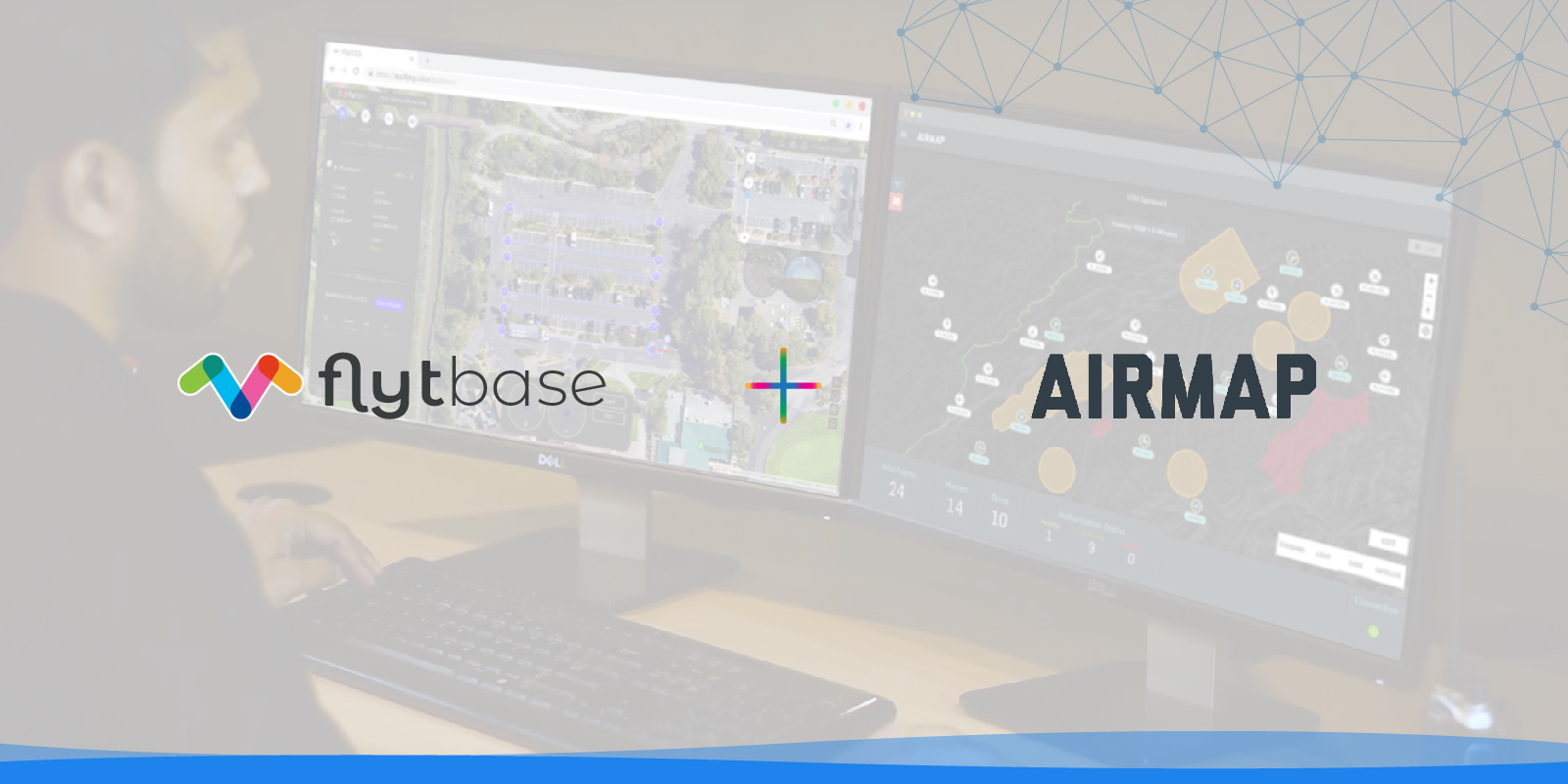 FlytBase and AirMap Join Hands to Power UTM Support for Drone Automation